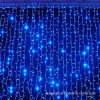 Cortina llevada luces de la decoración de la boda de la Navidad / partido