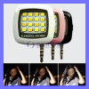 UniversalSmartphone 16 LED Photography Light Selfie Flash Fill Light für Smartphone iPhone IOS Android (LED602)