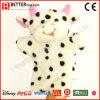 Fantoche de mão de vaca de pelúcia de brinquedo macio para crianças / crianças