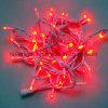 Luzes de Natal ajustáveis da corda do diodo emissor de luz da decoração do fio branco para o feriado