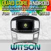 Hyundai H1 2016년 (W2-M586)를 위한 Witson S160 차 DVD GPS