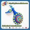 De nieuwe Plastic Raad en het Fluitje van het Stuk speelgoed van de Apparatuur van de Politie Vastgestelde