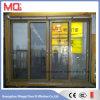 Porte coulissante en verre à structure en aluminium pour portes modernes en 2017