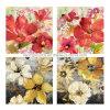 Impression de fleurs modernes en toile