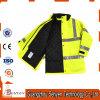 Куртка обеспеченностью безопасности высокой зимы видимости водоустойчивая отражательная