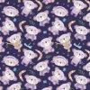 95/5 da panda encantadora do bebê do Knit de Lycra do algodão de tela feita sob encomenda da cópia de Digitas