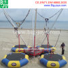 Tremplin mobile gonflable du Bungee 4 in-1 pour la plage