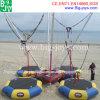 Trampolino mobile gonfiabile dell'ammortizzatore ausiliario 4 in-1 per la spiaggia