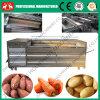 De Machine van de Schil van de Huid van de Maniok van het Type van Borstel van het roestvrij staal