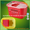 2.0L Sharps Container mit Handle Square Shape F2