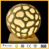 Het Beeldhouwwerk van de Lantaarn van de Ballen van het zandsteen voor de Decoratie van de Tuin