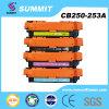 HP CB250-253A потребляемого оптовика совместимый патрона тонера цвета лазера