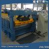 Telhadura de aço que dá forma à maquinaria