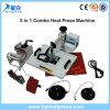 máquina combinada del traspaso térmico 5in1