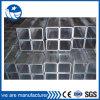 100X100 Plaza de tubos de acero del tubo por un metal para la construcción