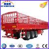 Tri-Axle Ganadería y Granja Camiones Carrier Stake Truck Trailers