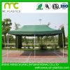 Material para techos cubierto PVC de la cubierta del carro de la tela de la tienda del encerado (1000dx1000d 30X30 900g)