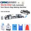Maquinaria não tecida automática do fabricante do saco com o punho em linha