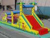 Corsa ad ostacoli gonfiabile del giardino zoologico divertente (CYOB-701)
