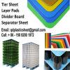 Pistas plásticas acanaladas de la capa, pistas de la capa de los PP, tarjetas del divisor, hojas del separador