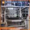 회전하는 층은 맨 위 PE 필름 부는 기계 Sj-B65-1를 정지한다