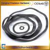 Rosetta elastica dell'onda del nero DIN137 M6-M130