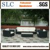 Sofà esterno di vimini del sofà esterno del rattan della mobilia del patio (SC-B6018-F)