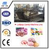 편평한 Lollipop 편평한 Lollipop 기계를 가진 기계를 만드는 기계 또는 대성공 사탕 혼합 과일 묵을 만드는 최고 Lollipop