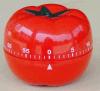 Materia plastica del temporizzatore del meccanico di figura del pomodoro