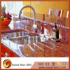 Comptoir en granite rouge poli naturel pour dessus de table de cuisine