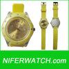 실리콘 노란 사탕 시계 (Nfsp052)