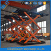 3t Portable Car Motor Scissor Lift Ce Approved
