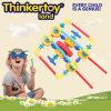 Puzzle educativos de plástico em brinquedos para crianças de blocos de construção