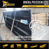 Explotación minera del hierro de la maquinaria del proceso mineral que sacude la planta de preparación de menas del vector