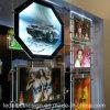 Boîte légère en cristal d'affichage ultra mince de fenêtre