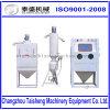 Tipo seco certificação elétrica do combustível ISO9001-2008 do armário do Sandblaster do potenciômetro da pressão