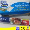 Rolo da folha de alumínio da cozinha para o alimento