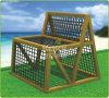 Комплект деревянной напольной спортивной площадки детей Kaiqi отдельно взбираясь (KQ60089B)