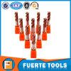 4flutes 5개의 축선 기계 맷돌로 갈기를 위한 편평한 총결산 선반