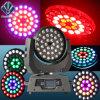 Indicatore luminoso capo mobile della discoteca dello zoom LED 36PCS 10W RGBW del fascio della lavata con effetto dell'anello