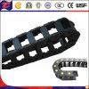 Ingeniería Cerrados rodillos de plástico cadena de arrastre de cable portador