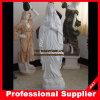 Het heilige Maagdelijke Marmeren Beeldhouwwerk van het Standbeeld van Mary Marble Carved Godsdienstige