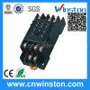 Mini plastique automatique Solid State Socket relais avec CE