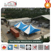 結婚披露宴およびイベントに使用する最も高いピークのテント