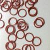 Rondelle di gomma modellate abitudine rossa