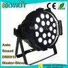 18pcs LED 10W RGBW 4en1 par el lavado de la luz