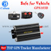 Bestes Vehicle GPS Tracker TK 103b mit Realtime Web Based Tracking und ACC Door Open/Shock/Built in Acceleration Sensor Alarm