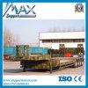 4개의 차축 80 Tons Flat Low Bed Truck Trailer, Transport Excavator와 Container를 위한 16m Low Flatbed Trailer
