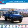 Классицистический вагон с краном Dongfeng 4X2 5ton с краном