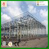 Professionnel dans l'entrepôt de structure métallique de fabrication